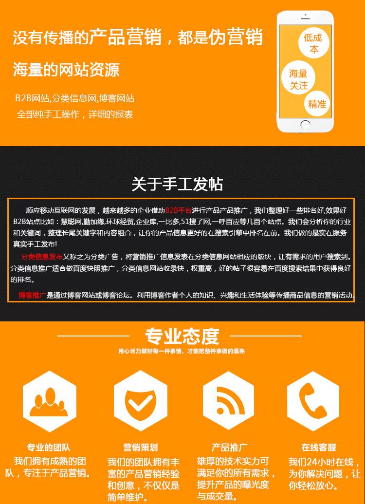 博客发帖,分类信息,b2b信息发帖,包收录